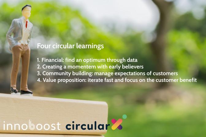 Four lessons for circular entrepreneurs