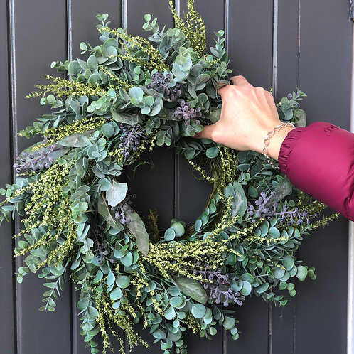 'WOVEN & WEATHERED' WREATH (BOXED)