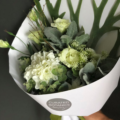 CONTEMPORARY WHITES BOUQUET (BOXED)