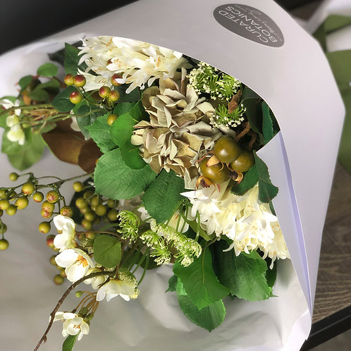 FORAGED WHITES BOUQUET (BOXED)