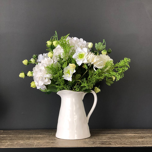 COUNTRY WHITE JUG