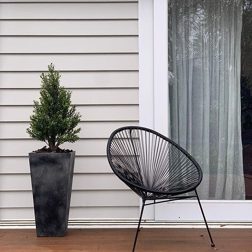 BUXUS CONICAL TALL PLANTER