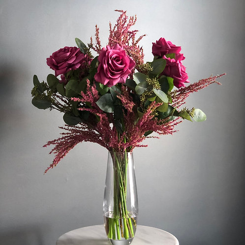 PINK PARADE (BOXED WITH VASE)