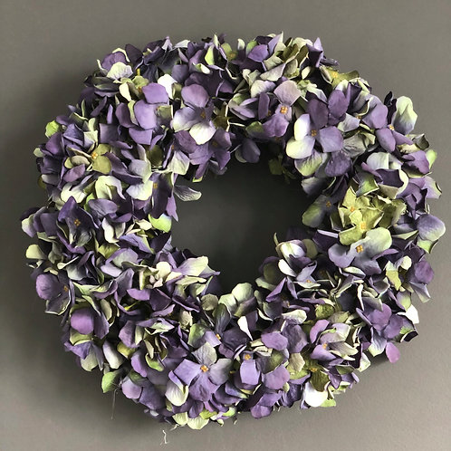 'PURPLE SKY' WREATH (BOXED)