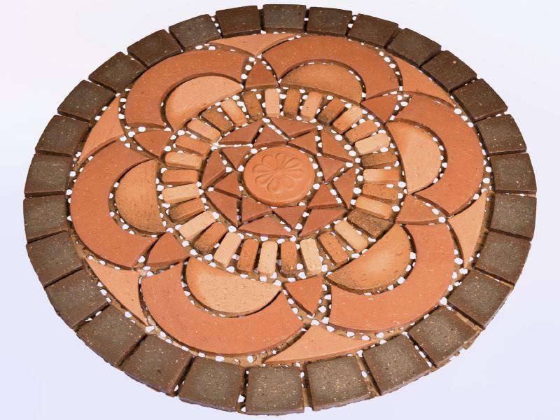 Rosetón Tulipan 63 cm