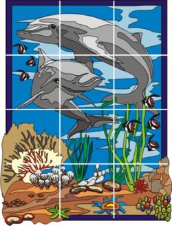 Mural Aruba (Fondo de Piscina)