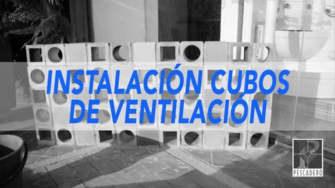 CUBOS DE VENTILACIÓN