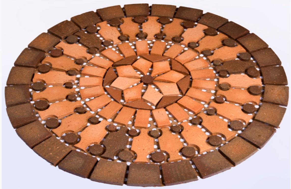 Rosetón Lirio 60 cm