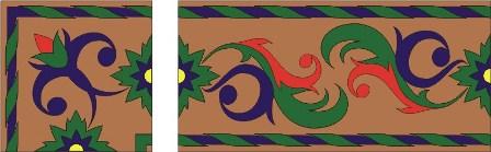 Cenefa Medieval