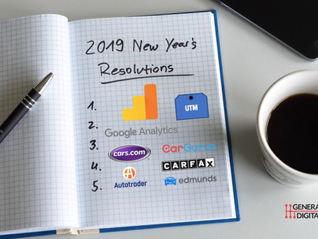New Year's Resolutions for the Digital Car Dealer