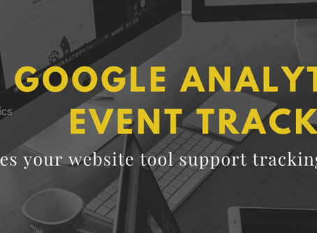 Website Tools Must Support Google Analytics Tracking