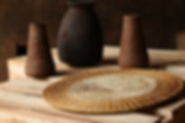 Handmade Fair Trade Home Decor Brown Banana Table Mat