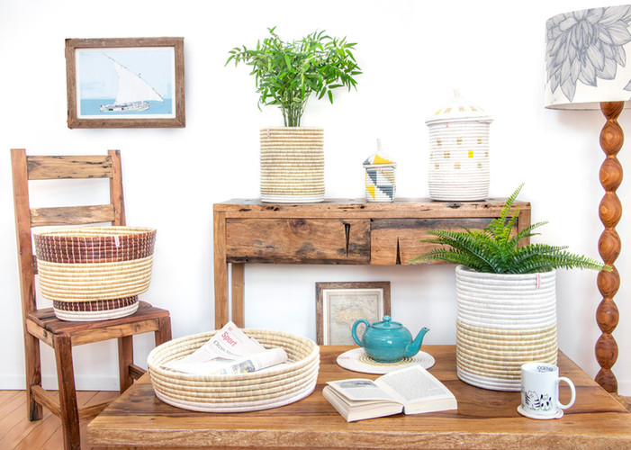 DECORATIVE STORAGE BASKETS