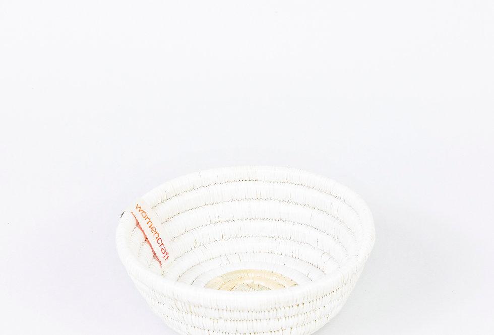 BAKULI BOWL (upcycled white)