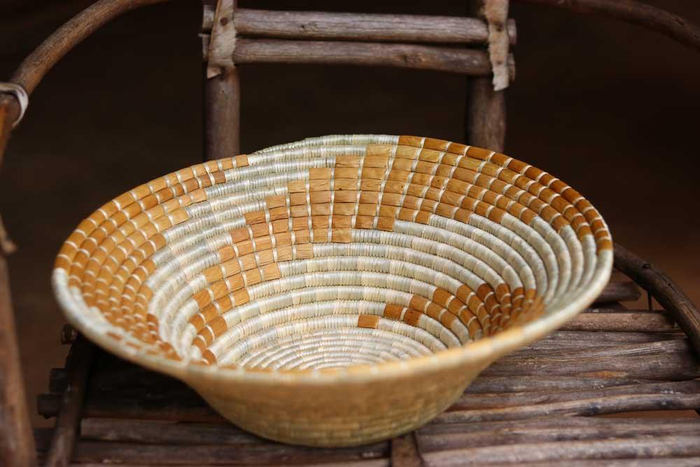 Fruit Bowl with brown banana