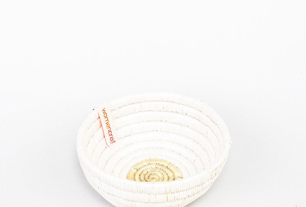 EASTER BOWL (upcycled white)