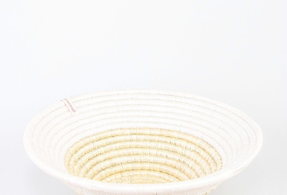 EASTER BASKET (upcycled white)