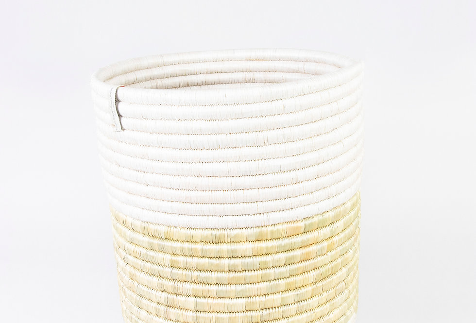 KATAKURU BASKET (upcycled white)