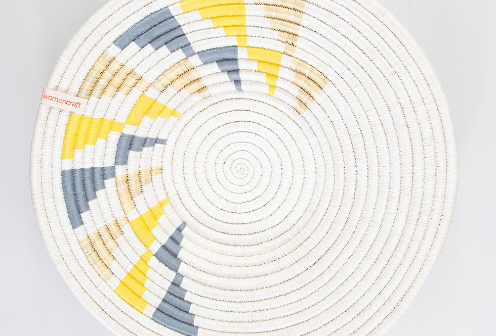 WALL HANGING | INYABU DESIGN (grey/yellow)