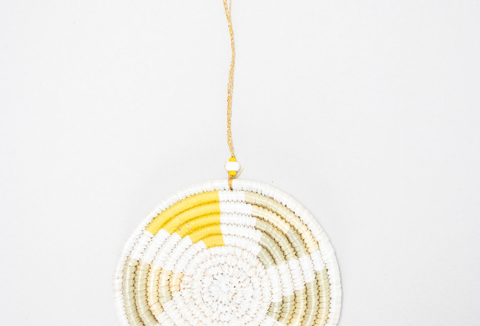 CHRISTMAS ORNAMENT | INYABU DESIGN (yellow)