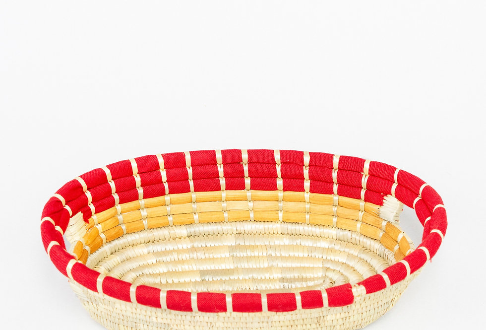 MKATE STORAGE BASKET (red)