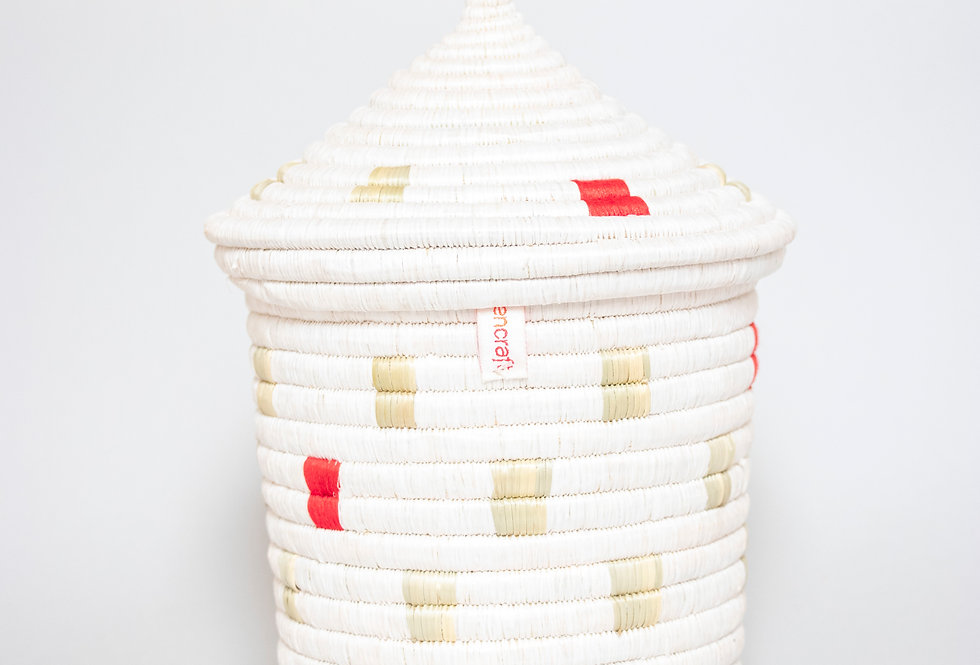 KITWARO BASKET | IKIBA DESIGN (red)