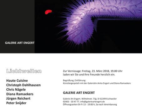 Lichtwelten - Galerie Art Engert