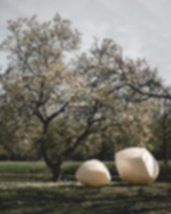light sculpture Ann van hoey - Atelier Haute cuisine