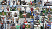 2017 Festival Anglers photos with year