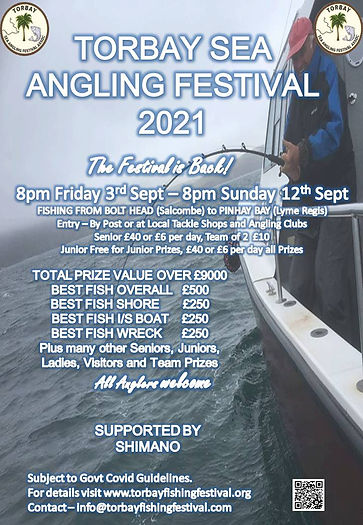 Torbay Festival Final Poster & Flyer 202