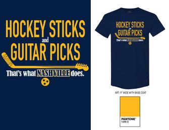 """Hockey Sticks & Guitar Picks"""