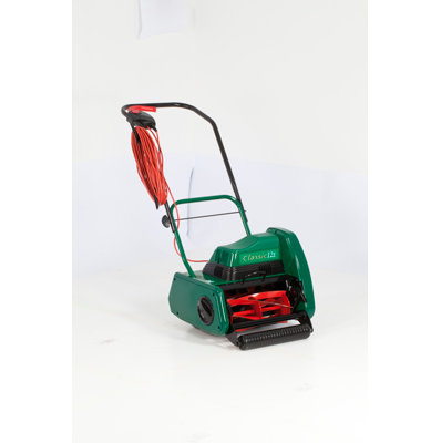 "ALLETT DOMESTIC CLASSIC 12E PLUS 12"" ELECTRIC CYLINDER LAWNMOWER"