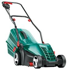 "BOSCH ROTAK 34R 14"" ELECTRIC ROTARY MOWER"
