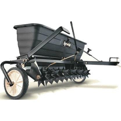 AGRI-FAB TOW BEHIND 17 GALLON SPIKER/SEEDER/DROP SPREADER