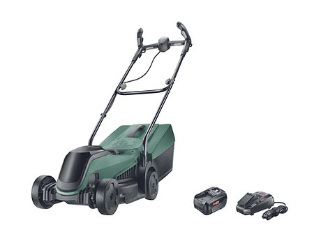 "BOSCH CITY MOWER 18V 14"" BATTERY POWERED LAWNMOWER"