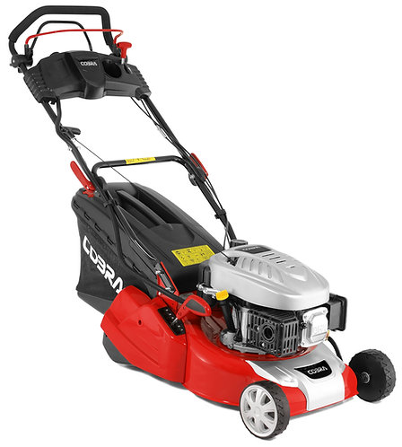 "COBRA RM40SPCE 16"" REAR ROLLER ELECTRIC START PETROL ROTARY MOWER"