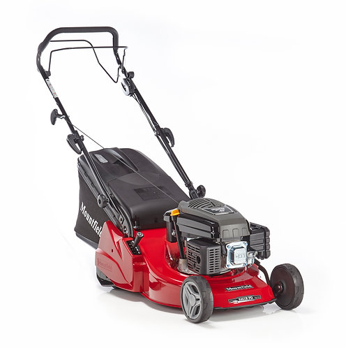 "MOUNTFIELD S461RPD 18"" SELF PROPELLED REAR ROLLER PETROL ROTARY MOWER"