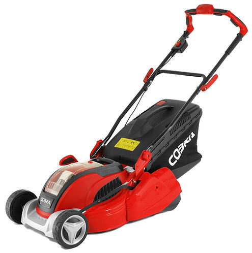 "COBRA RM4140V 16"" BATTERY POWERED LAWNMOWER"
