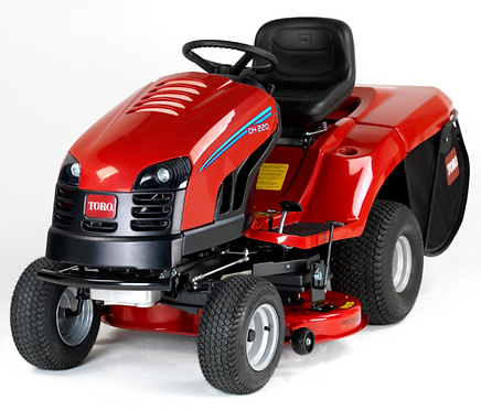 TORO DH210 GRASS COLLECTING RIDE ON MOWER