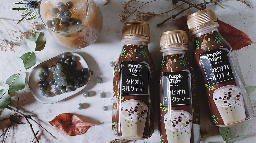 Purple Tiger Bubble Tea 蒟蒻珍奶 (300ml X 24 bottles))
