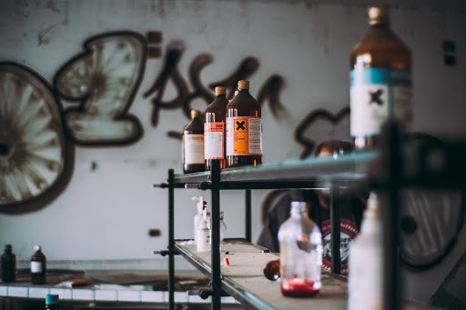 Poison bottles - TassieCat
