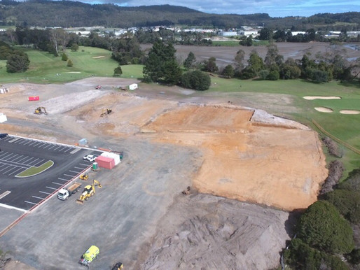 Drone Footage of Country Club Redevelopment!