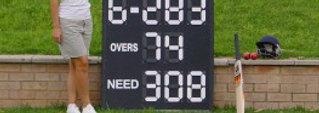 Deluxe Cricket Scoreboard