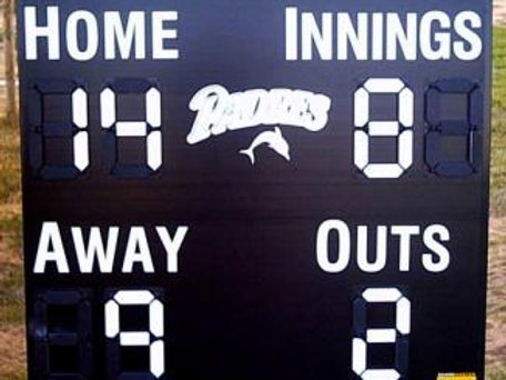 Minor League Baseball Scoreboard