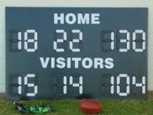 Deluxe 'League' Football Scoreboard