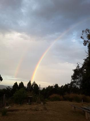 Rainbow at Erriba House
