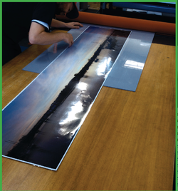 Cold One Sided Gloss Laminating