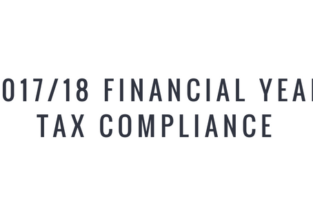 2017/18 Financial Year Tax Compliance