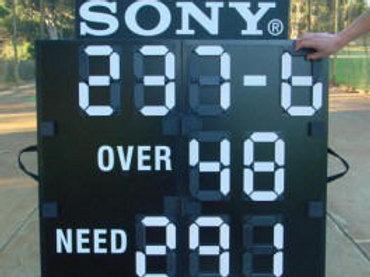 Deluxe 'Fold Up' Cricket Scoreboard