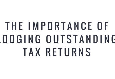 The Importance of Lodging Outstanding Tax Returns